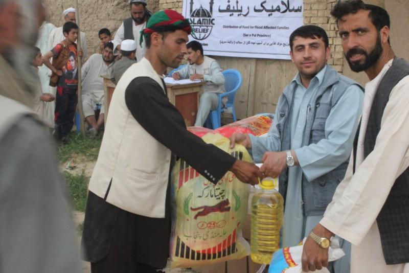 Islamic Relief Afghanistan food distribution
