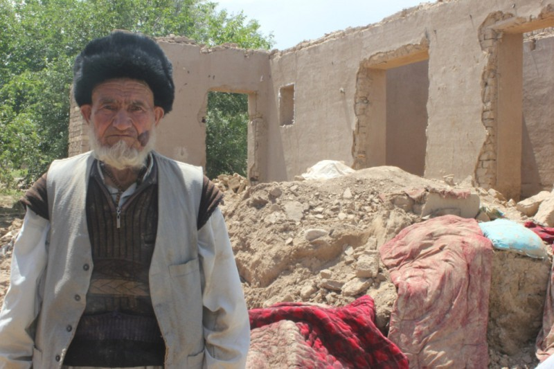 Thousands of homes were destroyed by flooding in Afghanistan