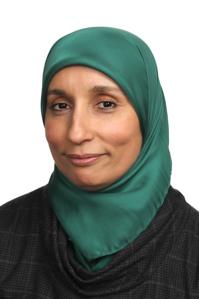 Lamia El Amri, Vice Chair of Islamic Relief Worldwide.