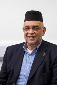 Tahir Salie, Chair of Islamic Relief Worldwide.