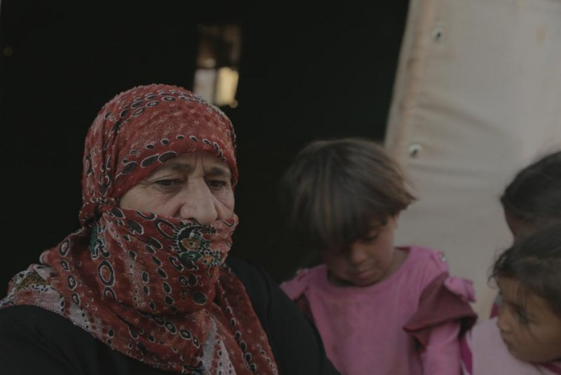 Um Ahmed survived an attack in Al Tarimsa