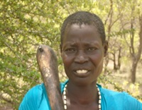 Akec Akueiwut was bitten by a poisonous snake.