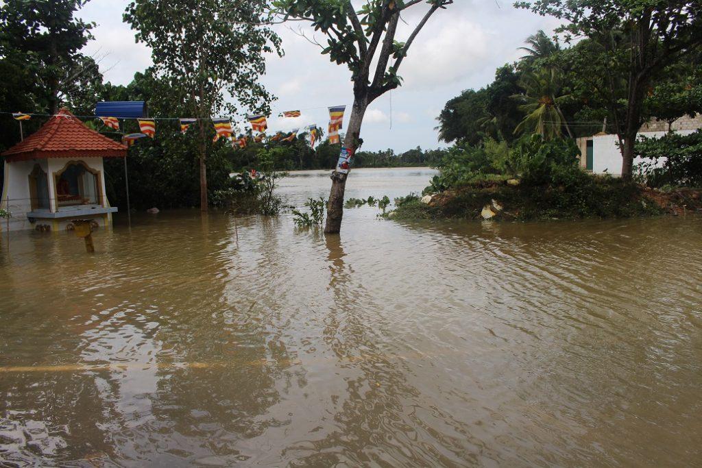 1 smaller Flood affected Area in Akuressa